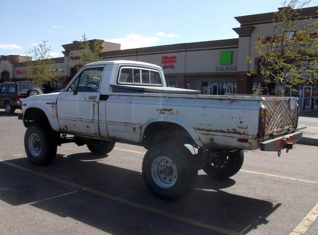Solid Front Axle Toyota Pickup