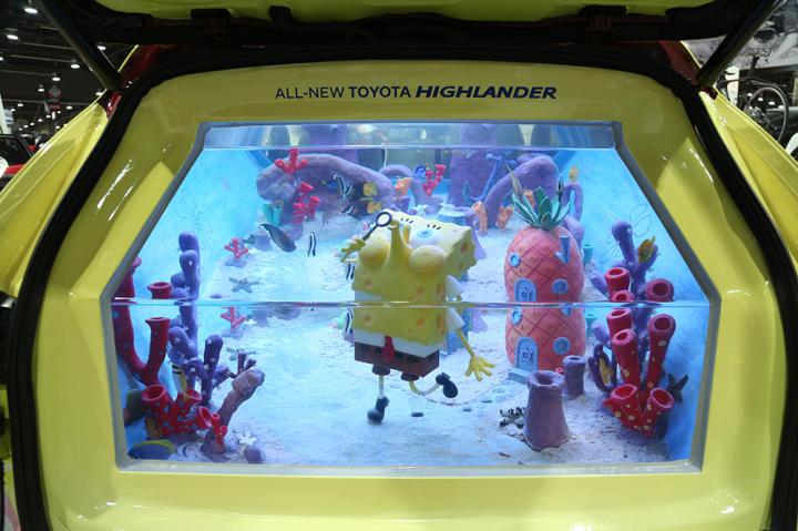 It's a SpongeBob SquarePants-themed tank!