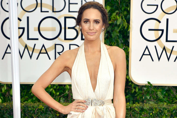 Louise Roe 2015 Golden Globes