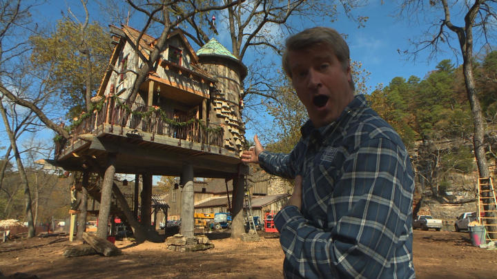 treehouse masters most mind blowing builds home tree home