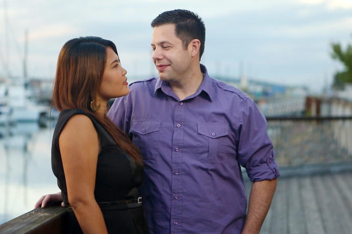 Meet Daya, 29, from the Philippines and Brett, 31, from Snohomish, Washington.