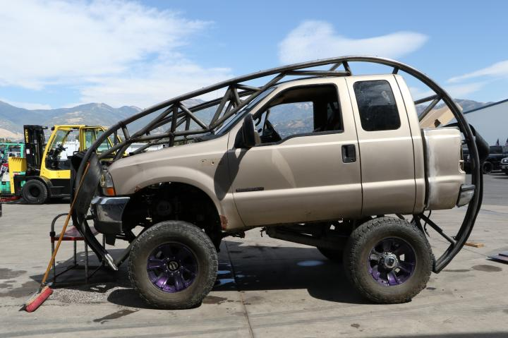 somersaulting stunt truck diesel brothers discovery. Black Bedroom Furniture Sets. Home Design Ideas