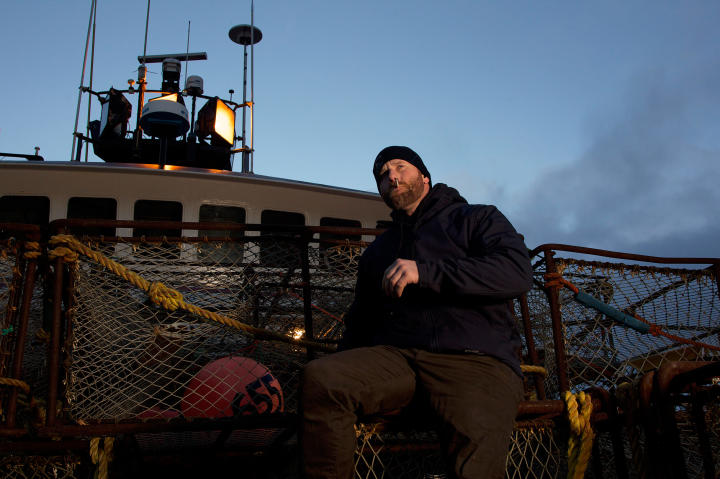 "Time Bandit deckhand William ""Billy the Kid"" Aaron."