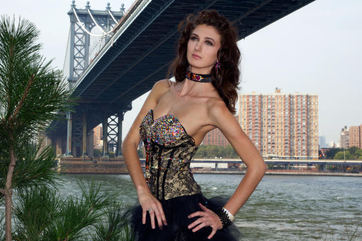 She has ambitions to become the world's first gypsy supermodel.