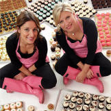 Katherine Kallinis and Sophie LaMontagne from DC Cupcakes are also the