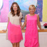 Sophie and Katherine celebrate the grand opening of their newest store