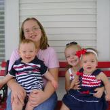 Happy 4th Of July from Melanie, Kayla, Grant & Gracie!