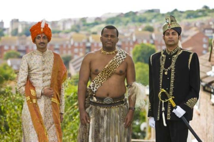 The Undercover Princes: Crown Prince Manvendra of Rajpipla, Prince Africa Zulu of Onkweni Royal House and Prince Remigius of Jaffna