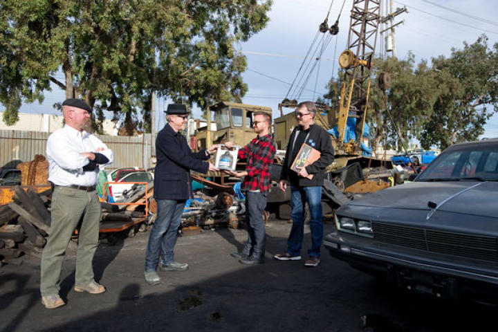 In the Breaking Bad Special, airing Monday, Aug. 12, at 10/9c, Jamie Hyneman and Adam Savage are joined by creator Vince Gilligan and star Aaron Paul as they scrutinize some of the science in the hit series.