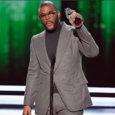 Tyler Perry Accepts Humanitarian Award