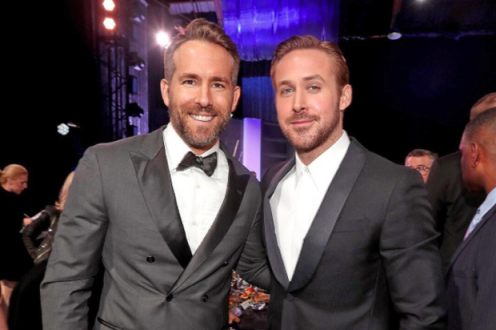 Ryan Gosling and Ryan Reynolds at the Critics Choice Awards