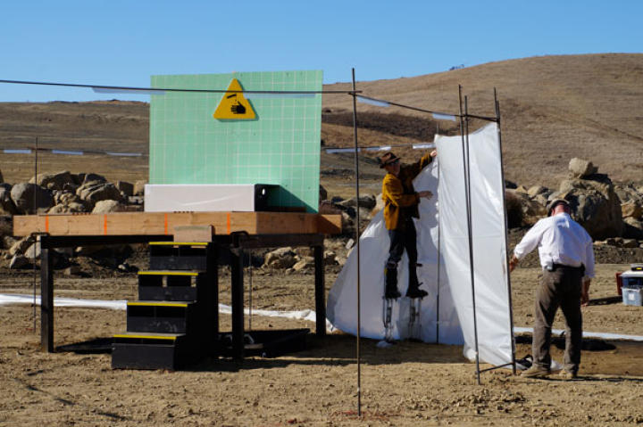 The full-scale acid shoot was one of the hardest shoots to set up in MythBusters history! Getting hold of that much acid,  completing the paperwork, and hiring a dedicated clean-up crew were all serious challenges to overcome. The shoot was postponed on three separate occasions before it finally happened.