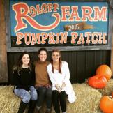 Sisters During Pumpkin Season