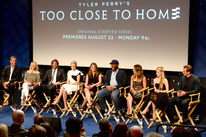 Press Screening for Tyler Perry's new TLC show called Too Close To Home