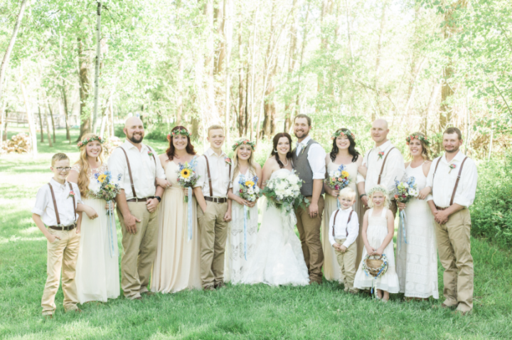 Maddie and caleb s wedding album sister wives tlc