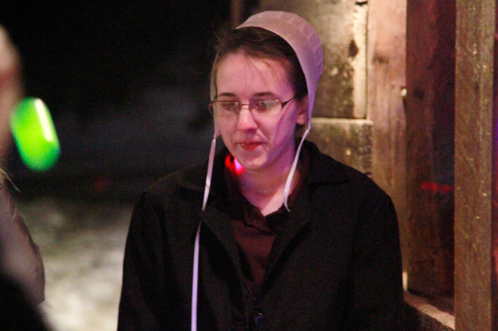 Katie-Ann was feeling plenty of pressure from her parents to find a husband, but it wasn't easy to meet guys. They avoid her because her family is always causing problems in the community, Katie-Ann explained. Still, she attended an Amish hut party to see what eligible bachelors might be there.