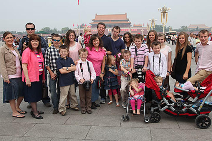 The Duggars continue their Asian tour in China.