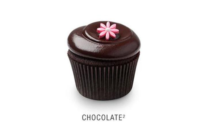 Feast your eyes on these irresistible creations from Georgetown Cupcake. First up:  Chocolate Squared  Valrhona chocolate cupcake with a whipped Callebaut chocolate frosting topped with a fondant flower.