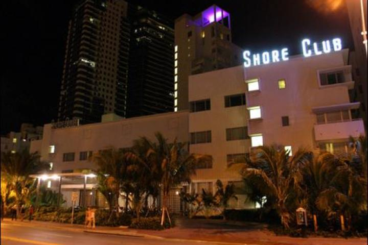 The Miami Ink premiere party was held at the Shore Club in Miami.