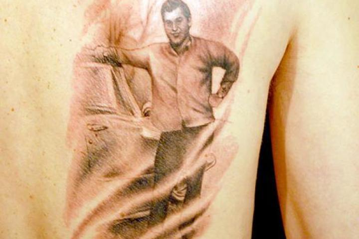 Domenic Franco's Tattoo