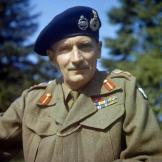 British Commander Bernard Montgomery.
