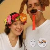 snap chat filters - couples costume 2