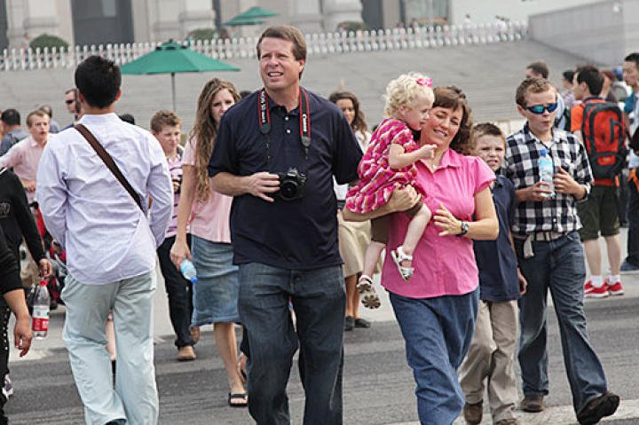 The Duggars spent a total of three weeks in Asia.