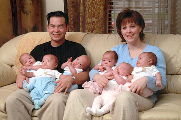 America's first glimpse of Jon and Kate Gosselin and their sextuplets was on  Surviving Twins and Sextuplets on the Discovery Health channel way back in 2005.