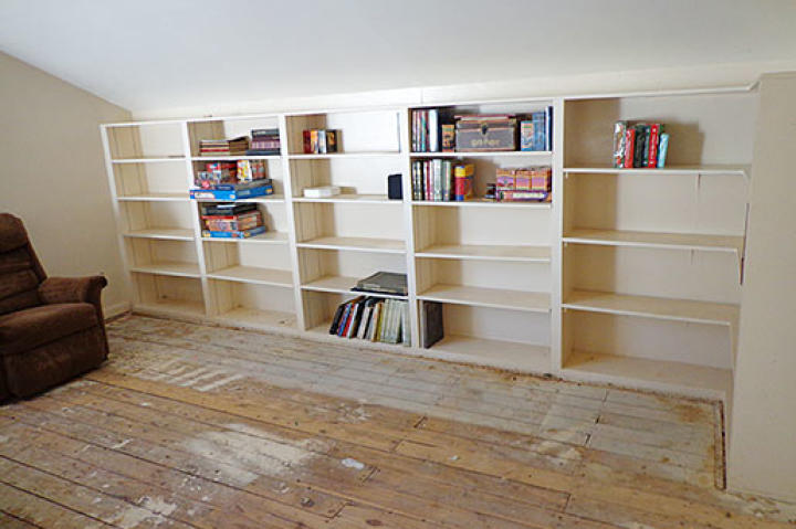 Kay's Home: Library, After