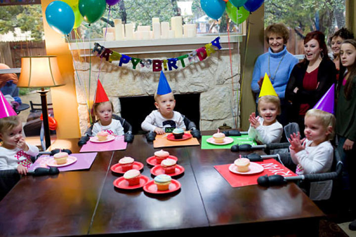 Happy Birthday, Quints!