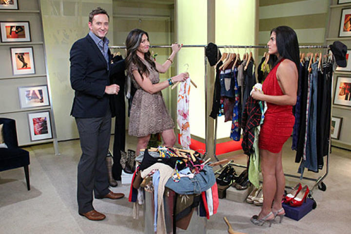 """Can Stacy and Clinton get this """"Jersey Shore"""" wannabe into a less revealing wardrobe?"""