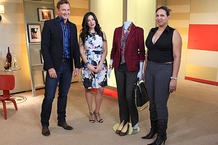 Can Stacy and Clinton teach Andrea to dress more appropriately for her age and her career?