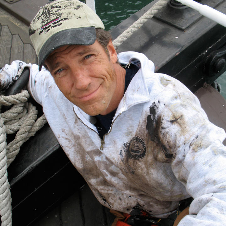 What are some facts about Mike Rowe?