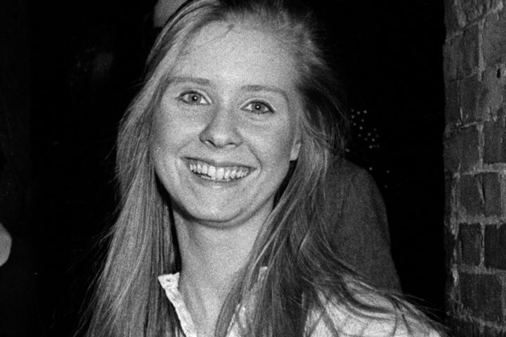 Cynthia Nixon was born in 1966 and attended Barnard College. Here, she's seen at a performance party for