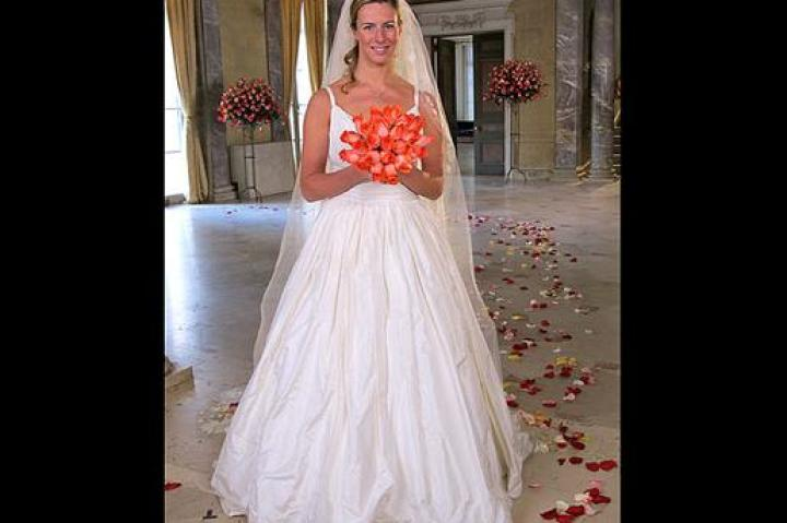 Her's a full view of Danielle's gown. How will it compare to the dresses of the other brides?