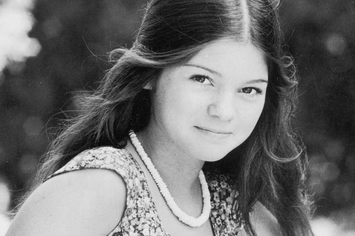 Delaware-born Valerie Bertinelli knew at age 14 that she wanted to become an actress. Here she is as a fresh-faced ingenue in 1975.