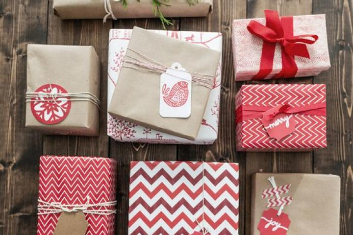 Mix and Match wrapping paper