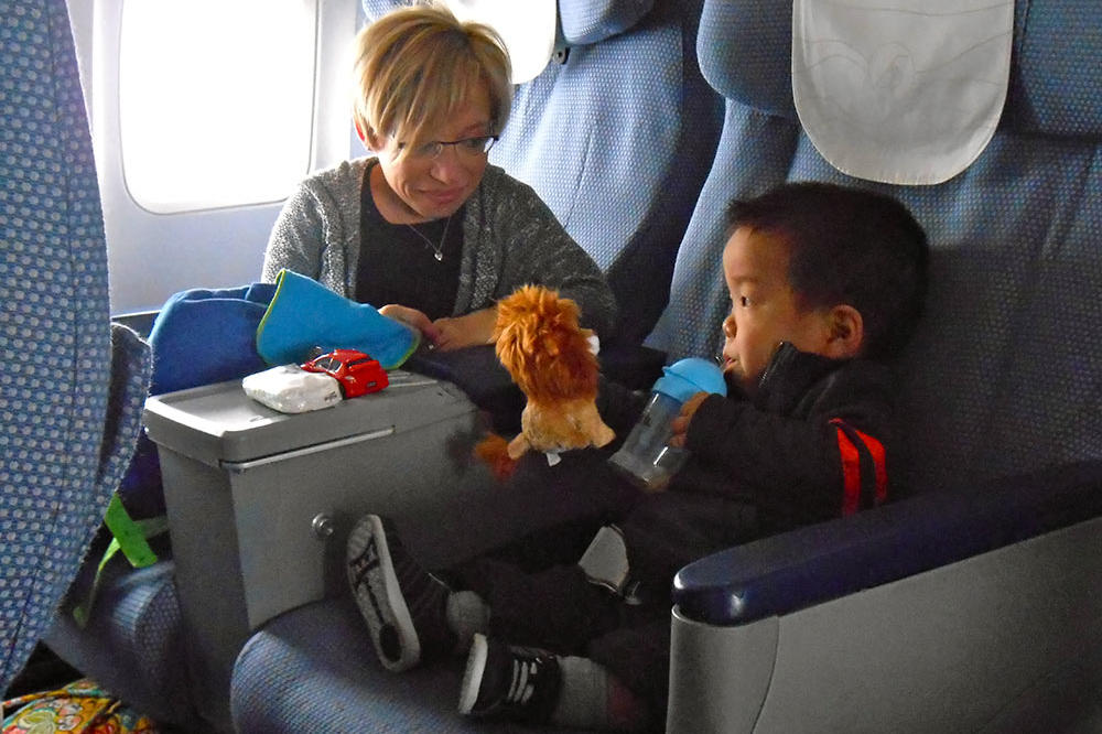 Will is quite the traveler for such a little boy!