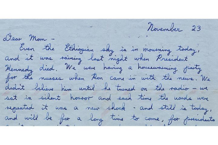 Letter by Annie Lounsbery, read by Zooey Deschanel.