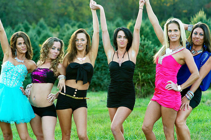 From the left, JoAnn, Annie, Kayla, Mellie, Nettie and Sheena -- otherwise known as gypsy sisters.