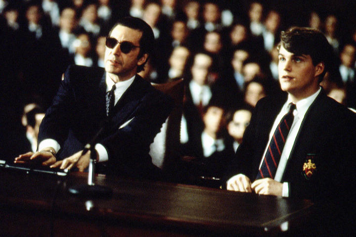 Al Pacino and Chris O'Donnell in the movie
