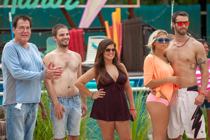 Cecil is taking a break from managing Myrtle Manor and leaving Becky in charge. Take a look at photos from his farewell celebration.