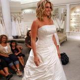 Lisa Valastro in her original wedding dress