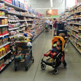 As a little person it can be hard to reach the items high up on the shelves. |