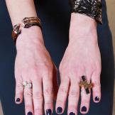 Three Spike Bracelets by Vita Fede, Textured Cuff by Alexis Bittar, Op