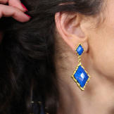 Blue Earrings from Amrita Singh Jewelry