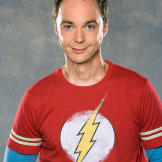 "Jim Parsons poses for a photo shoot in 2008 to promote ""The Big B"