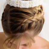 Long, thick hair can be difficult to sweep up and off your neck. In a