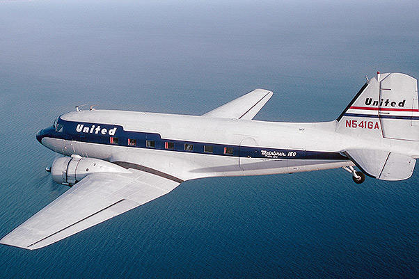 Isn't this restored McDonnell Douglas DC3 a beauty? What a classic plane. A lot of you guessed it right away so kudos to all of you who played.