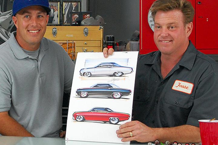 The Impala Drawing